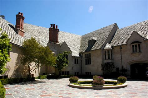 Greystone Mansion | panoramio photo of greystone mansion
