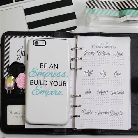 At A Glance Calendar 2016 It S Time To Organize Your Filofax For 2016 Strange
