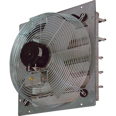 shutter exhaust fan 24 tpi shutter mounted direct drive exhaust fan 24in