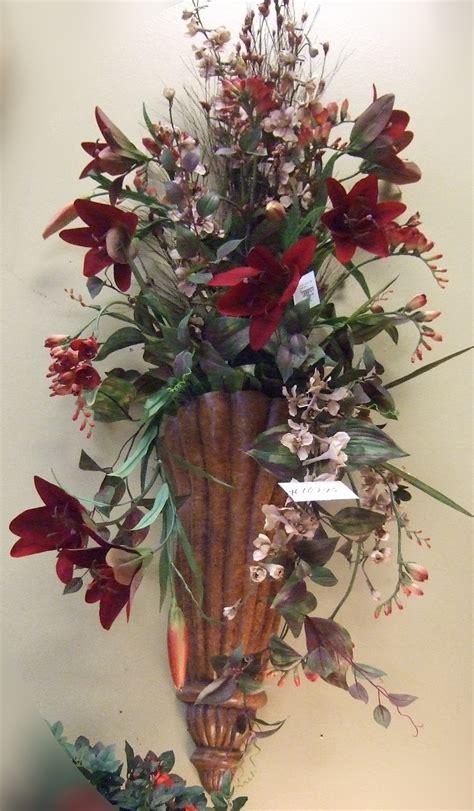 wall arrangements silk flowers images wall sconces silk flowers