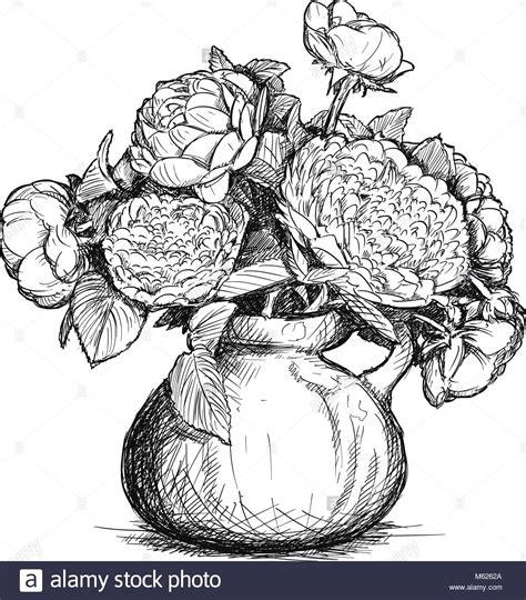 disegni vasi disegno vaso di fiori