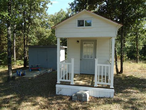 tiny house real estate tiny house for sale in arkansas has everything but room