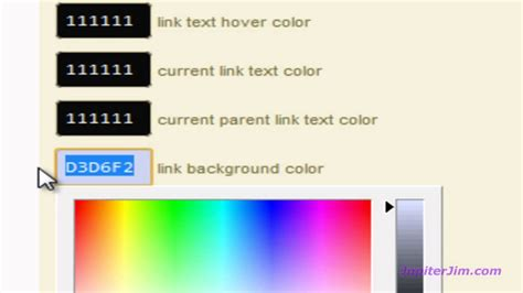 change layout wordpress blog thesis tutorial change page and blog site background