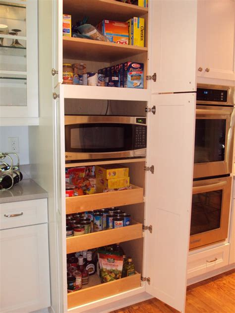microwave  pantry ideas pictures remodel  decor