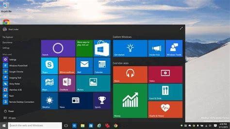 seit wann gibt es windows 8 حول شكل الوندوز xp أو 7 أو 8 1 إلى شكل الوندوز 10 الأنيق