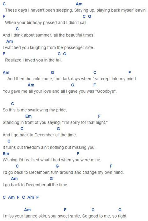 taylor swift easy ukulele chords best 25 back to december lyrics ideas on pinterest