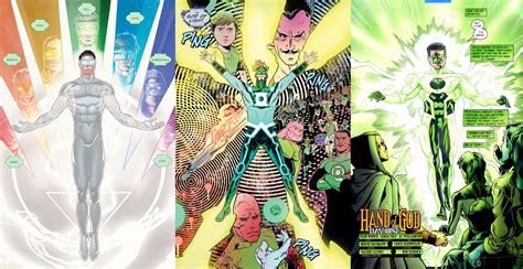 green lantern god of light white lantern vs god of light vs ion hand of god