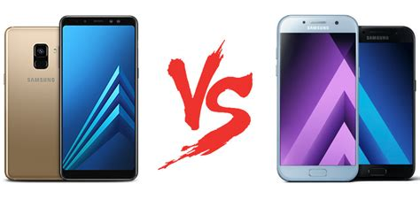 Hp Samsung A5 A8 spec showdown samsung galaxy a8 series vs galaxy a7 and a5