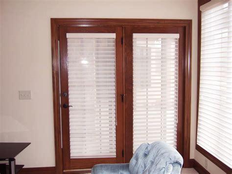 Blinds For Doors With Windows Ideas Door Window Blinds Window Treatments Design Ideas