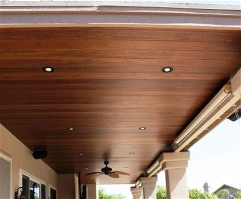 Outdoor Wood Ceiling Planks Wood Patio Ceiling This Home Wood