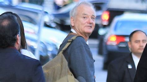 bill murray alive bill murray is very much alive but an art gallery is