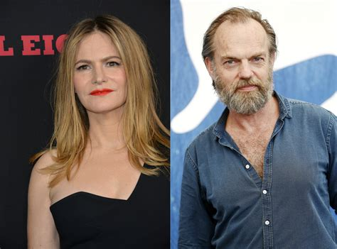 jennifer jason leigh new show patrick melrose jennifer jason leigh hugo weaving join