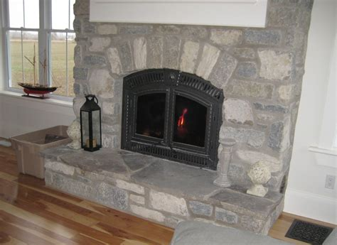Tumbled Fireplace by Ewm Indoor Fireplaces