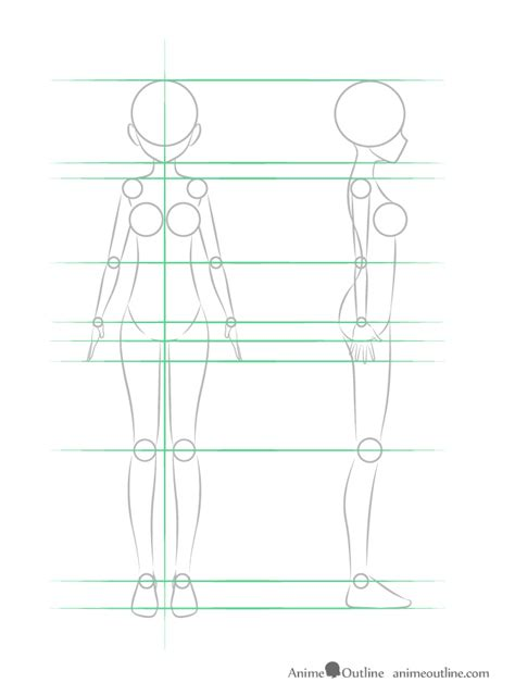drawing structure how to draw anime step by step tutorial anime