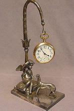 Antique Empire 5574 by Antique Napoleon Empire Gilt Mantel Clock Ormolu Greyhound