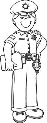 Officer Coloring Pages by Officer Coloring Pages Images