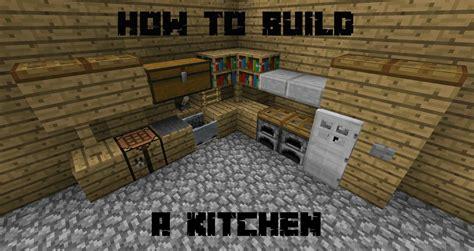 how build kitchen minecraft best ideas about