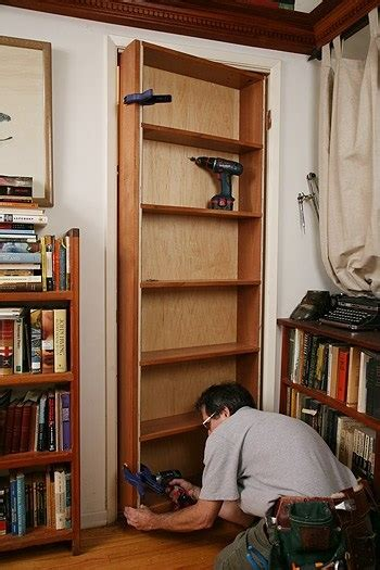 movable bookcase diy tips