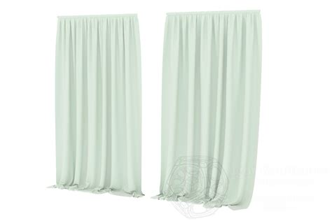 3d curtains cgtrader com