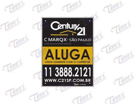 Century Home Decor by Placa Imobili 225 Ria 30 X 40 Cm Pl 225 Stica Personalizada Aluga Se Ou Vende Se Em Psai Poliestireno
