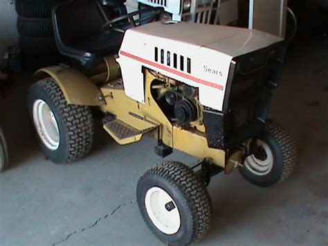 sears st restore project sears craftsman tractor