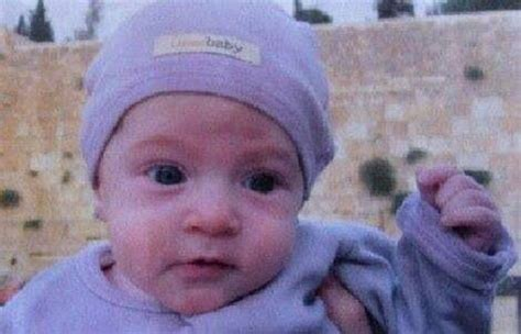 baby killed by washington state dep confirms baby killed by palestinian driver in jerusalem was