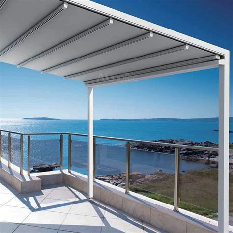 pvc awnings waterproof pvc retractable awning pergola systems buy