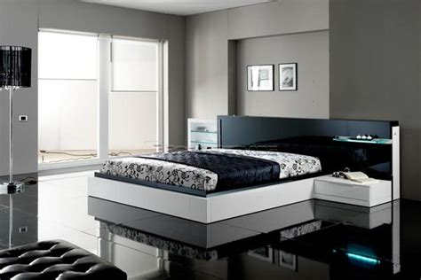 house designs black  white contemporary modern bedroom sets
