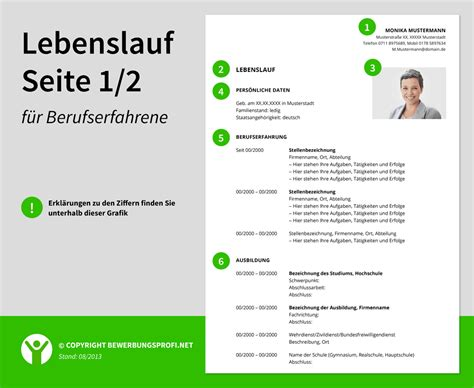 10 lebenslauf muster 2014 reimbursement format