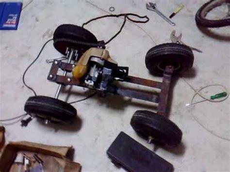 homemade cc petrol rc car build part  youtube