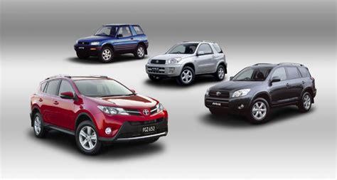 Toyota History Toyota Rav4 Celebrates 20th Anniversary Special Colours