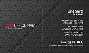https www realty cards order template rac102a html keller williams real estate business card template 25