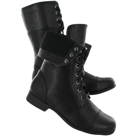 cheap black combat boots cr boot