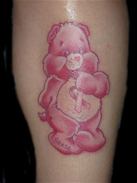 tatty teddy tattoo designs pink teddy from itattooz