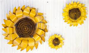 Sunflower Wall Decor by Rustic Tin Sunflower Wall