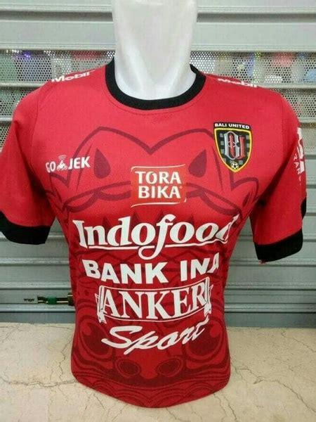 Jersey Bali United Liga Gojek 2017 jual jersey bali united home gojek liga 1 grade ori