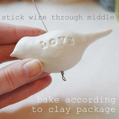 craft tutorials galore at crafter holic clay birds