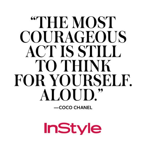 coco chanel biography quotes coco chanel 9 memorable quotes on her birthday instyle com