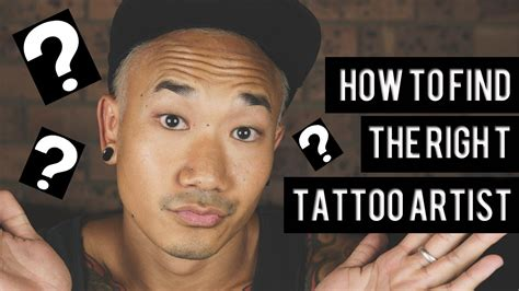 how to find a good tattoo artist how to find the right artist for you