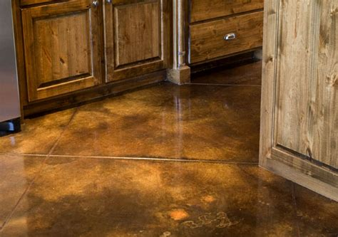 concrete floor stain colors decorative concrete