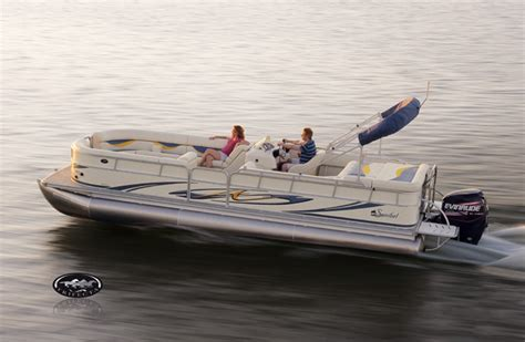 forest river odyssey pontoon boats research forest river south bay 322c pontoon boat on