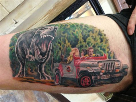 jurassic park tattoo in honor of jurassic world we bring you the best worst