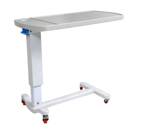 hospital style bedside table model 001 gas riging hospital overbed table buy