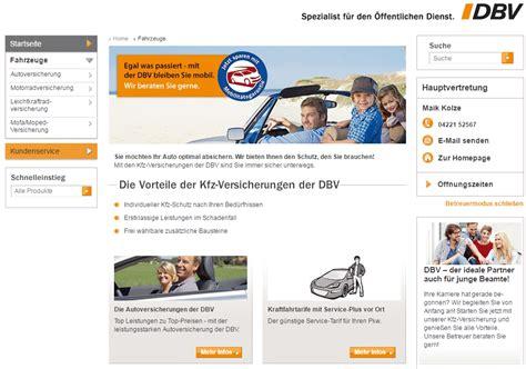 Autoversicherungen Test by Dbv Autoversicherung Test Der Gro 223 E Testbericht 2018