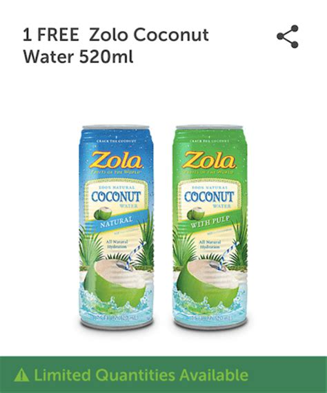 where to buy water in canada 7 eleven canada freebies buy 1 zolo coconut water 520ml
