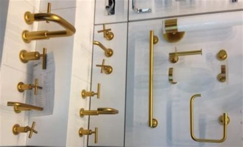 Modern Bathroom Remodel Gold Finishes For Kitchen And Bath Design