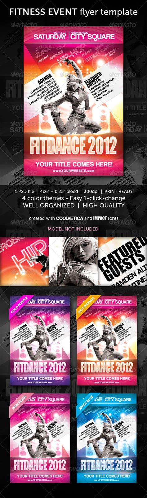 13 Best Images About Zumba Flyer On Pinterest Studios Flyer Template And Business Card Templates Kicks Flyer Template 2
