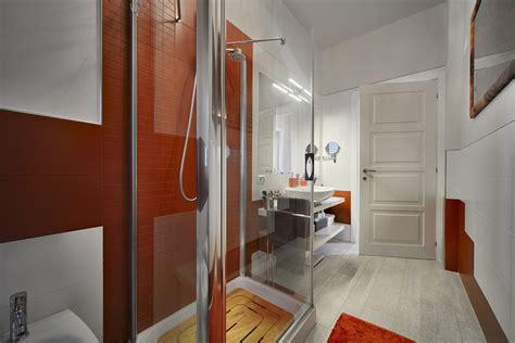 bagno di colore rame design casa creativa e mobili
