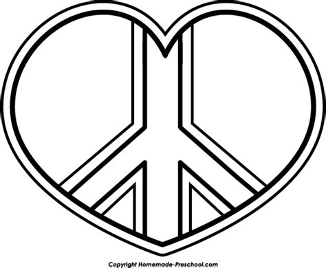 free drawings peace coloring pages