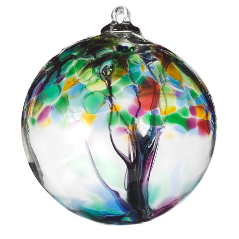recycled glass tree globes relationships motherhood